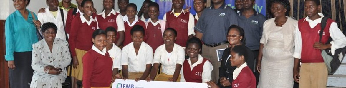 Chichiri Secondary School students were all smiles when they received their scholarships in 2014